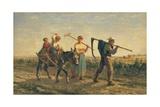 Returning Home Giclee Print by Jules Veyrassat