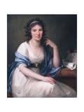 Ellis Cornelia Knight, 1793 Giclee Print by Angelica Kauffmann