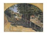 Heath Street, Hampstead, 1852-55 Giclee Print by Ford Madox Brown