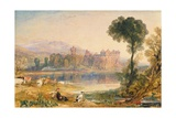 Linlithgow Palace, 1821 Giclee Print by Joseph Mallord William Turner
