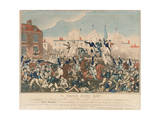 The Peterloo Massacre, 16th August 1819 Giclee Print by George Cruikshank