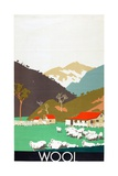 Wool, from the Series 'Buy New Zealand Produce' Giclee Print by Frank Newbould