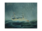 The Storm-Tossed Vessel, C.1899 Giclee Print by Henri Rousseau