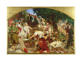 Work', 1852-65 Giclee Print by Ford Madox Brown