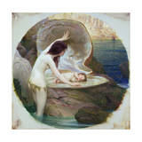 A Water Baby, C.1900 Giclee Print by Herbert James Draper