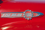Vintage Ford F-750 Big Job Firetruck Emblem Photo Poster Plakaty