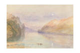A Swiss Lake, C.1841 Giclee Print by Joseph Mallord William Turner