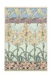 Alphonse Mucha - Plate 33 from 'Documents Decoratifs', 1902 Digitálně vytištěná reprodukce