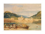 Inverary, Loch Fyne, Argyllshire, C.1802 Giclee Print by Joseph Mallord William Turner