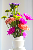 Still Life Summer Flowers Arrangement Photo Poster Posters