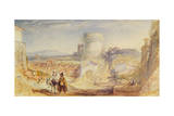 Rome, the Tomb of Cecilia Metella, C.1824 Giclee Print by Joseph Mallord William Turner