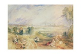 Oxford from North Hinksey Giclee Print by Joseph Mallord William Turner