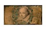 William Shakespeare, C.1800-03 Giclee Print by William Blake