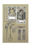 Study for Plate 43 from 'Documents Decoratifs', 1902 Giclee Print by Alphonse Mucha