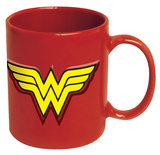 Wonder Woman Embossed Logo 20 oz. Ceramic Mug Mug