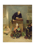 The Incorrigible, 1879 Giclee Print by John Burr