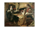Cromwell, Protector of the Vaudois, 1877 Giclee Print by Ford Madox Brown