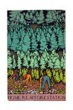Home Afforestation Giclee Print by Keith Henderson