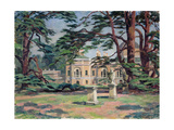 Chiswick House Giclee Print by Roger Eliot Fry