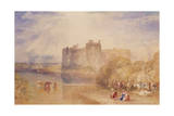 Carew Castle, Pembroke, C.1832 Giclee Print by Joseph Mallord William Turner