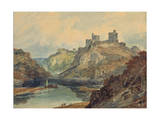 Kilgarran Castle, C.1798 Giclee Print by Joseph Mallord William Turner