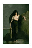 Sappho, 1877 Giclee Print by Charles Auguste Mengin