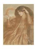 La Donna Della Fiamma, 1870 Giclee Print by Dante Gabriel Rossetti