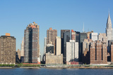 New York City Skyline with Empire State and Chrysler Buildings Photo Poster Photo