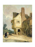 The Old House at St. Albans, C.1806 Giclee Print by John Sell Cotman