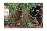 West African Mahogany Giclee Print by Keith Henderson