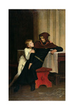 Prince Arthur and Prince Hubert, 1882 Giclee Print by William Frederick Yeames