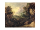 Landscape with Figures, C.1786 Giclee Print by Thomas Gainsborough