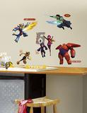 Big Hero 6 Peel and Stick Wall Decals Muursticker