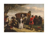 Claude Duval, Illustration from 'Macaulay's History of England' Giclee Print by William Powell Frith