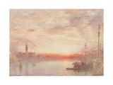 Venice, Cemetery Island (San Michele), 1903 Giclee Print by Albert Goodwin