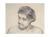 Study of a Man's Head Giclee Print by Robert Braithwaite Martineau