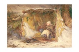 One of Our Breadwatchers, 1866 Giclee Print by Frederic James Shields