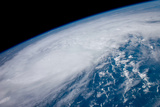 Hurricane Irene from Space Art Print Poster Prints