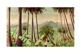 Fiji - Copra, Pineapples, Bananas, Sugar, from the Series 'Some Empire Islands', 1929 Giclee Print by Keith Henderson