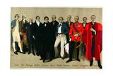 Historical Portraits, from the Series 'The Empire Is Still in Building', 1927 Giclee Print by Fred Taylor