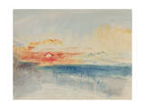 Sunset, C.1845 Giclee Print by J. M. W. Turner