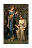 When Apples Were Golden and Songs Were Sweet But Summer Had Passed Away, C.1906 Giclee Print by John Melhuish Strudwick