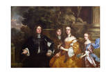 Sir John Cotton and His Family, 1660 Giclee Print by Sir Peter Lely