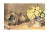 Spring Flowers and Birds' Nests, C.1830 Giclee Print by William Henry Hunt