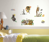 Madagascar Peel and Stick Wall Decals Wallstickers