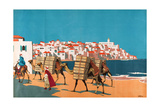 Jaffa, from the Series 'Buy Jaffa Oranges' Giclee Print by Frank Newbould