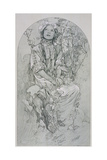Plate 8 from 'Figures Decoratives', 1902 Giclee Print by Alphonse Mucha