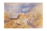 A Village in the Alps, Sion, C.1846 Giclee Print by Joseph Mallord William Turner