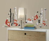 Fox Forest Peel and Stick Wall Decals Wall Decal