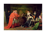 Catherine of Aragon, 1866 Giclee Print by William III Bromley